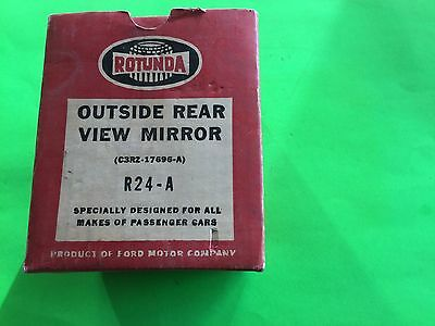 New In Box Rotunda Outside Rearview Mirror R24A