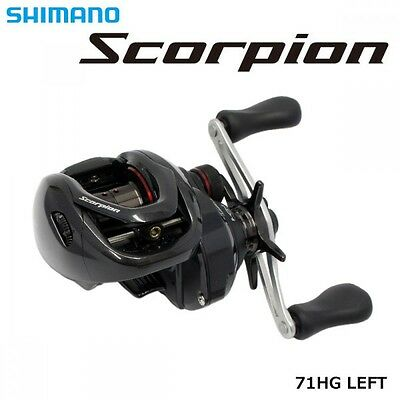 Shimano 16 Scorpion 71 HG LEFT Handle Baitcasting Reel New F/S with Tracking