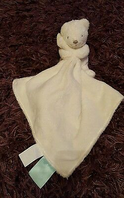 Marks and spencer  M&S teddy bear comforter blankie soft hug baby toy