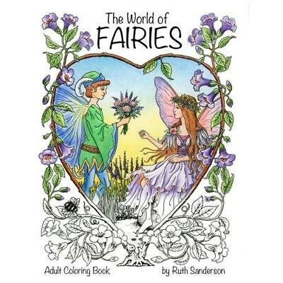 FREE 2 DAY SHIPPING: The World of Fairies: A Coloring Book for Adults