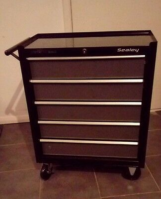 Sealey Locking Rollcab 5 Drawer Mechanics Tool Box/Chest