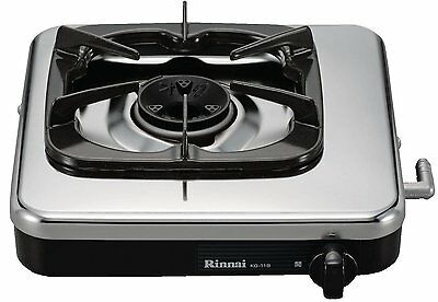 NEW Rinnai gas 1 burner stove 13A for black KG-11B 13A from JAPAN #EMS #Fastest
