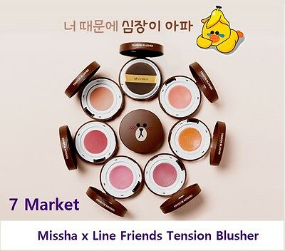 [Limited Edition] Missha x Line Friends Tension Blusher (Choose 1 in 6)