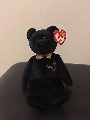 Ty Beanie Baby The End Bear!! Never Used!!