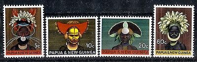 Papua New Guinea.  1968  'National Heritage'.  SG125-128.  Mint.