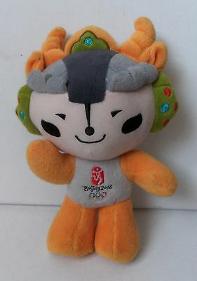 Yingying 2008 Official Mascot Doll Plush Figure Soft Toy Olimpics Games Ying