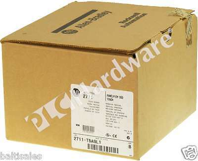 New Allen Bradley 2711-T5A9L1 /B PanelView 550 Mono/Touch/RS232(DH-485) FRN 4.41