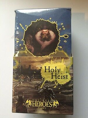 The Spoils Holy Heist Booster Box - New & Sealed - Free Uk p&p