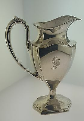 Vintage Sterling Silver Creamer Milk Sever Jug International 143.5 Grams