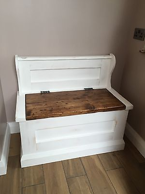 Settle bench With Storage Made To Measure In Any Size Required