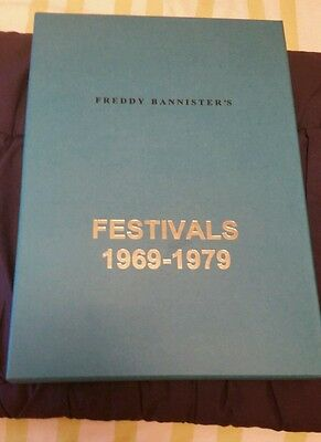 FRED BANNISTER FESTIVALS 1969 1979 14 CDs LIMITED 250 BOX ZAPPA ZEPPELIN GENESIS