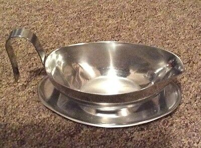 Stainless Steel Sauce/Gravy Boat - Good Condition