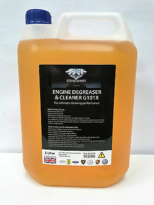 STONEWHITE 5 LITRE Engine Degreasant Car Part Machine Degreaser Powerful Cleaner