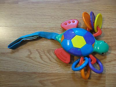 Turtle Rattle Crib Stroller Toy Summer Infant Products Inc