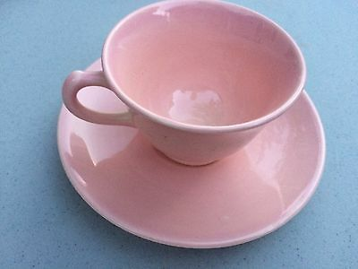 Vintage TS&T Lu-Ray Pastels Tea Cup +  Saucer   Pink
