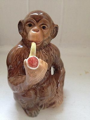 Beswick Pottery Monkey Smoking Pipe Model 1049 Collectable