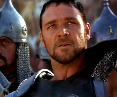 GLADIATOR Film Cell Lot Russell Crowe Rome Romans SPQR