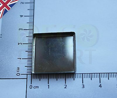 Empty Square Tin Pan for DIY Eyeshadow Responsive to Magnets 26mm