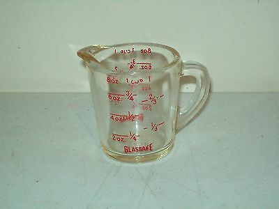 vintage Measuring Cup Anchor Glasbake glass circa 1950's excellent shape