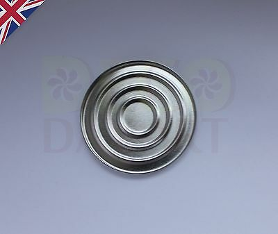 Empty Round Tin Pan for DIY Eyeshadow Responsive to Magnets 57mm
