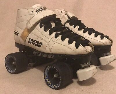 Rare! LT429 Hard Candy Vapor Series Speed Skates Pacer by Labeda Black - Size 7