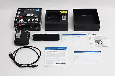 PocketWizard FlexTT5 for Canon Wireless Flash EX+ Trigger Pocket Wizard Flex TT5