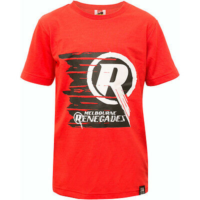 NEW Official Melbourne Renegades Kids Big Bash League Cotton Tee