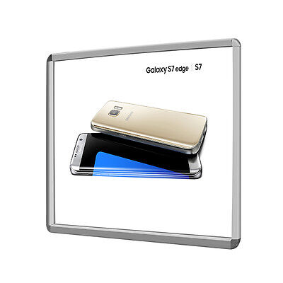 Aluminum Snap Picture Photo Poster Frame for restaurant menu board signs