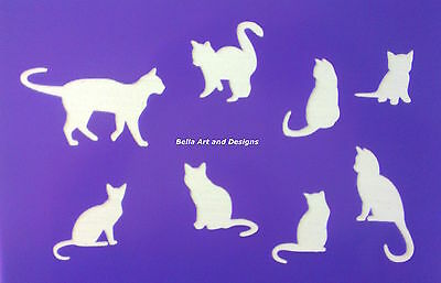 Assorted Cat Silhouette Stencils - **Free gift with every order**