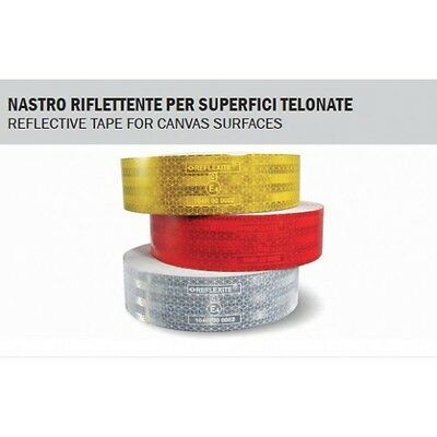 Nastro Riflettente Per Superfici Telonate Giallo