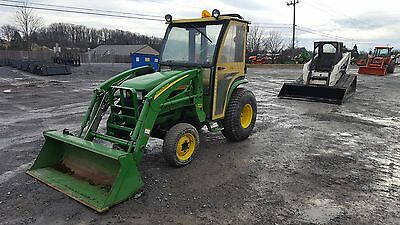 2004 John Deere 4210 4x4 Compact Tractor w/ Cab & Loader!