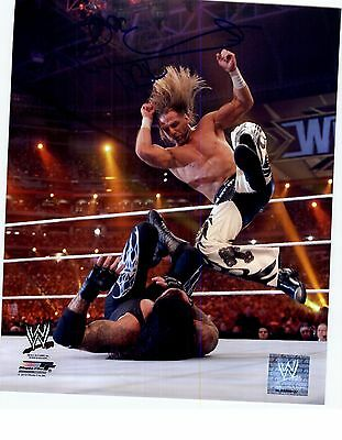 SHAWN MICHAELS WWE 8x10 PHOTO SIGNED AUTOGRAPHED AUTO PHOTO FILE