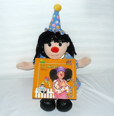 Lot Set Of 2 Big Comfy Couch Commonwealth Plush Birthday Party Molly And Book