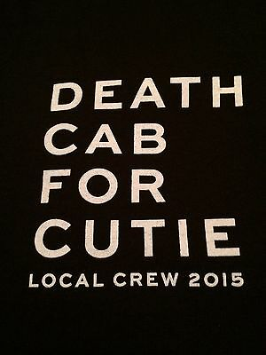 Death Cab For Cutie Local Crew limited edition T-shirt Brand New/Never Worn