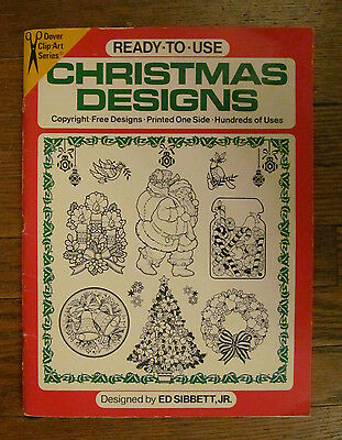 Christmas Clip Art Book Dover Clip Art 1979 Christmas Designs Cards Crafts