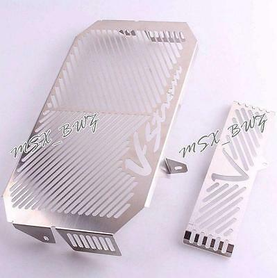 Aluminum Radiator Grille Guard Cover Protector For SUZUKI DL650 2005-2008 06 07