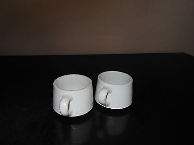 Vintage TWO Coffee Cups