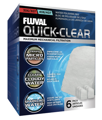 Fluval 304/404, 305,405 & 306/406 Polishing Pad (6pk)