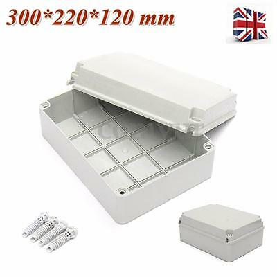 300x220x120mm Adaptable IP56 ABS Junction Box Waterproof Connection Enclosure