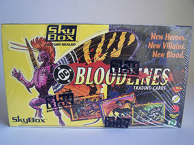 DC Bloodlines - Sealed Trading Card Box - 1993