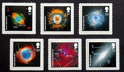 GB -2007, Astronomical Objects, Scott #2438-43