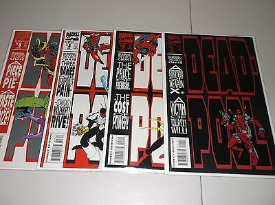 Deadpool: The Circle Chase #1-4 (Complete 1993 series) 1 2 3 4 VF/NM