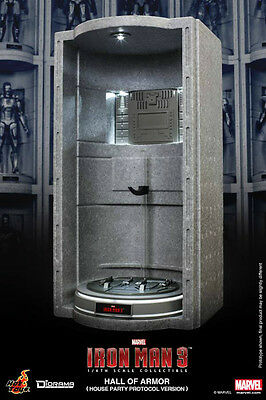 Hot Toys Hall of Armor (House Party Protocol)-Iron Man 3 DS002 **UK**