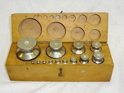 Vintage BULGARIAN  Set of Weights For Balance Scale 13 pcs VERY RARE