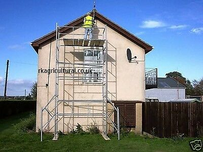 Scaffold tower 6x4 light duty 21ft working height +FREE BASE PLATES