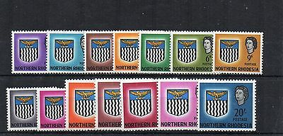 Northern Rhodesia 1963  Arms set to 20s MNH