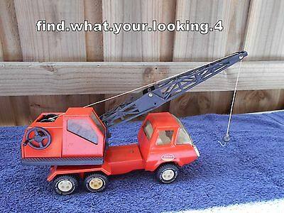Tonka Vintage 1970's Boom Crane Truck  Very Nice Condition For Its Age