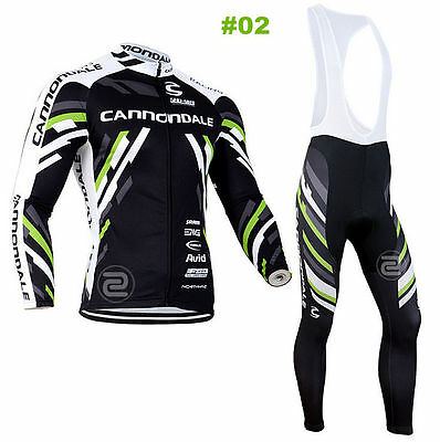 HOT New Style Cycling Jersey Trouser Bib Long Pants Long Set Bicycle Wear Suit