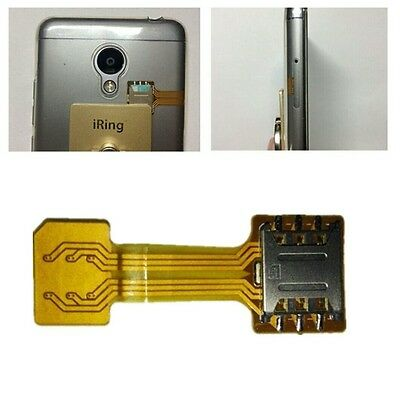 Dual NANO SIM Card Extender FFC FPC Cable for Huawei Oppo Samsung etc.