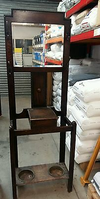 antique wooden hallstand in need of some tlc shabby chic project?